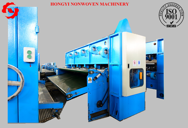 5m Nonwoven Needle Punching Machine For Geotextile / Leather Fabric
