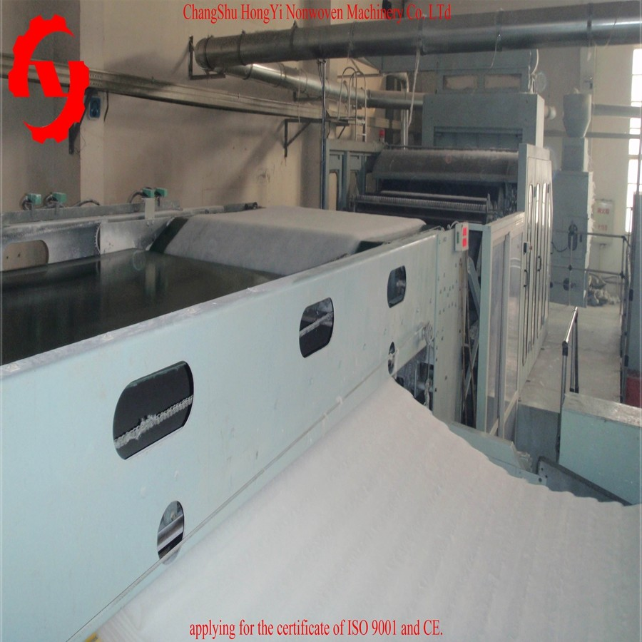 Nonwoven Fiber Cross Lapper Machine 5000mm Light Weight Rollers
