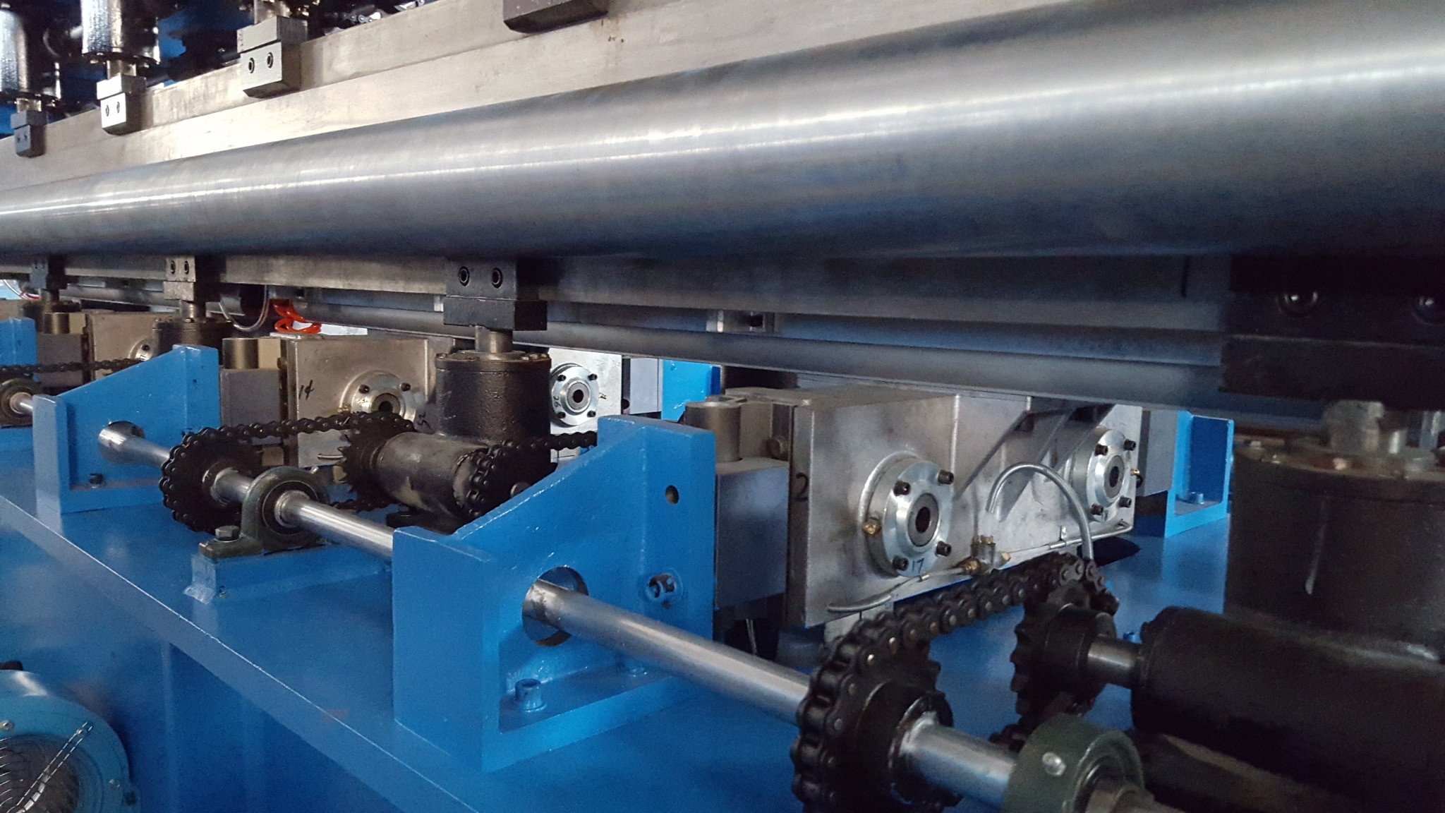 High Capacity Glass Fiber Felt Pre - Needle Punching Machine 2200-8000mm 6.5 M