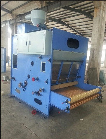 High Efficiency Cotton Vibrating Hopper Feeder , Hopper Feeder Machine For Nonwoven
