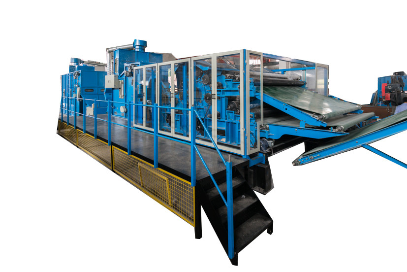 Iso9001 75KW Nonwoven Carding Machine For Quilt
