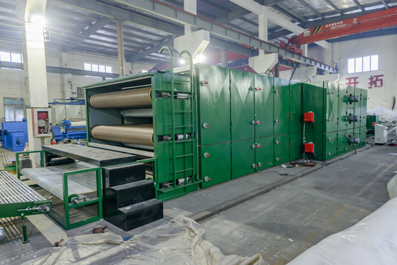 Kelapa Sawit Kelapa Dry Dry Oven Oven / Non Woven Fabric Production Line